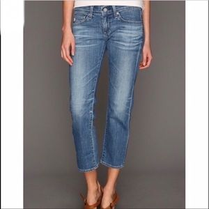 Adriano Goldshmeid The Tomboy Cropped Jeans 27R